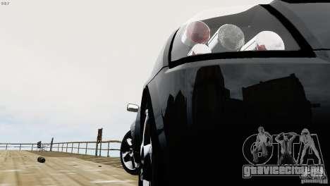 Opel Speedster Turbo 2004 для GTA 4 вид изнутри