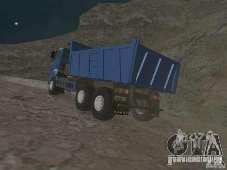 КАМАЗ 65222 для GTA San Andreas вид справа