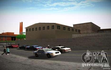 HD пожарная часть для GTA San Andreas восьмой скриншот