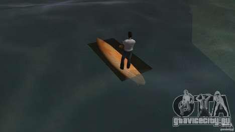 Surfboard 2 для GTA Vice City вид сзади слева