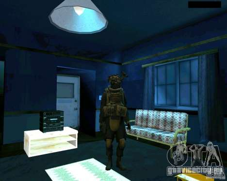 Солдат из CoD MW 2 для GTA San Andreas