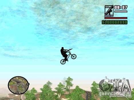 Летающие велосипеды для GTA San Andreas