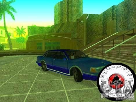 Новый Cпидометр для GTA San Andreas третий скриншот