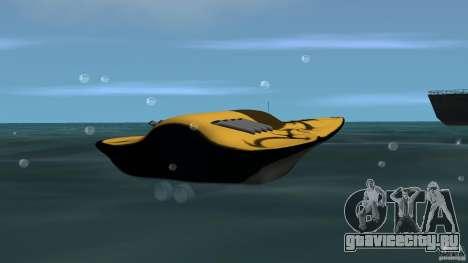 X-87 Offshore Racer для GTA Vice City вид сзади слева