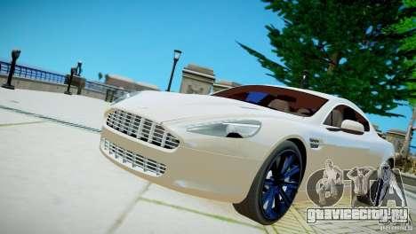 Aston Martin Rapide для GTA 4 вид справа