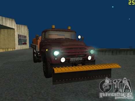 КО-829 на шасси ЗиЛ-130 beta для GTA San Andreas вид изнутри