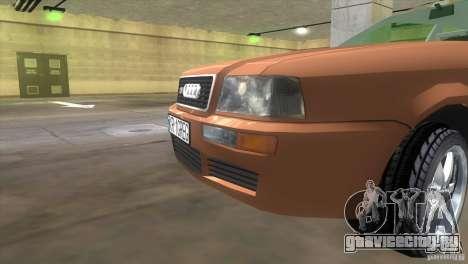 Audi S2 для GTA Vice City вид сзади слева