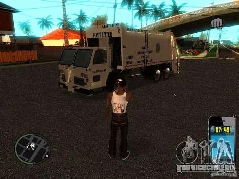 Мусорщик из ГТА 4 для GTA San Andreas