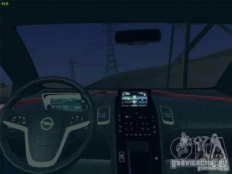 Opel Ampera 2012 для GTA San Andreas вид сзади