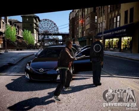 Bad Niko для GTA 4 четвёртый скриншот