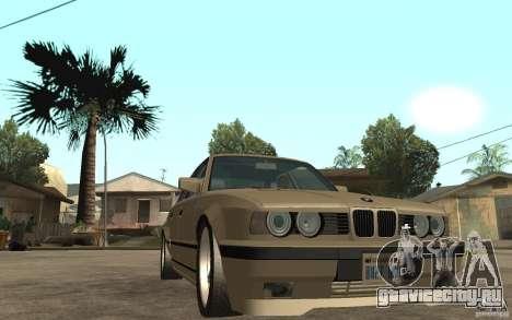BMW 535i e34 AC Schnitzer для GTA San Andreas вид сзади