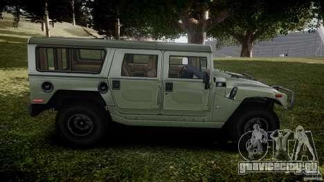 Hummer H1 Original для GTA 4 вид сбоку