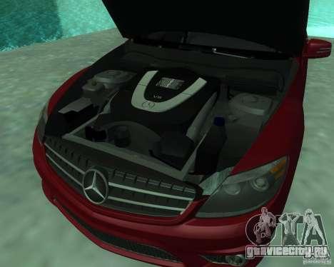 Mercedes-Benz CL65 AMG для GTA San Andreas вид изнутри