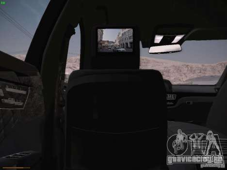 Mercedes Benz S65 AMG 2012 для GTA San Andreas вид сбоку