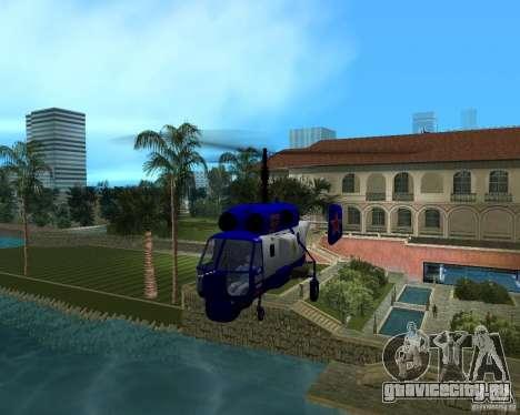 Ка-27 для GTA Vice City вид сзади слева