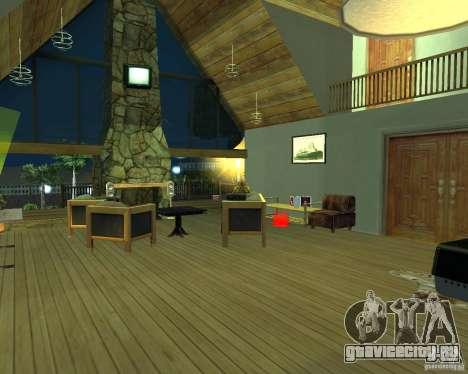 Новая Вилла для CJ для GTA San Andreas