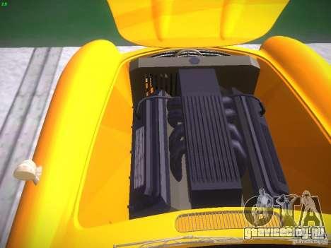 Mercedes-Benz 300SL для GTA San Andreas вид изнутри