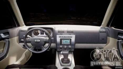 Hummer H3 для GTA 4 вид справа