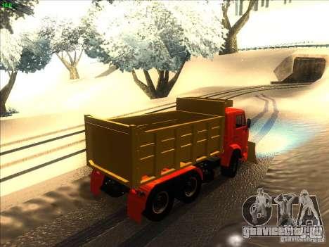 КамАЗ 5410 для GTA San Andreas вид справа