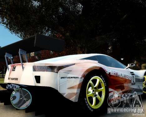Lexus LFA Speedhunters Edition для GTA 4 вид справа