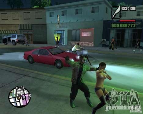 Джейсон Вурхис для GTA San Andreas пятый скриншот