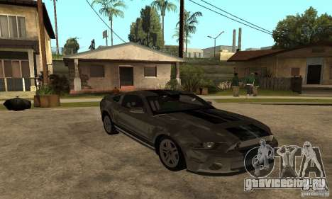 Ford Mustang Shelby 2010 для GTA San Andreas