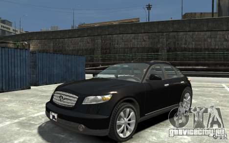 Infiniti FX45 для GTA 4