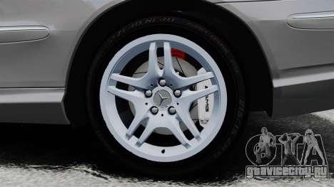 Mercedes-Benz CLK 55 AMG Stock для GTA 4 вид сзади