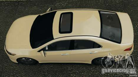 Honda Accord Type S 2008 для GTA 4 вид справа