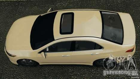 Honda Accord Type S 2008 для GTA 4 вид справа