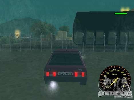 ВАЗ 2108 classic для GTA San Andreas вид справа