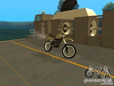 Мотоцикл Чезет для GTA San Andreas вид слева