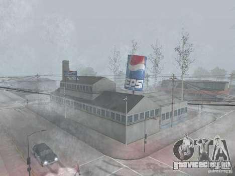 Завод и автоматы Pepsi для GTA San Andreas второй скриншот
