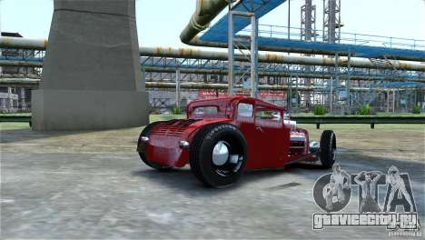 Smith 34 Hot-Rod Restyling для GTA 4 вид сбоку