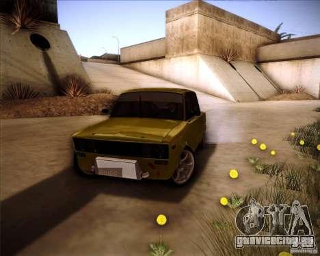 ВАЗ 2106 drift для GTA San Andreas вид сбоку