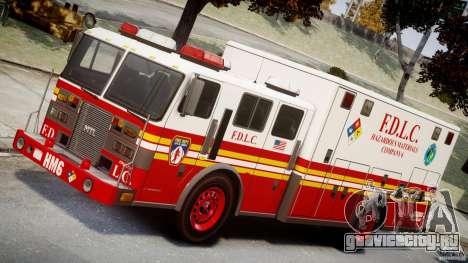 LCFD Hazmat Truck v1.3 для GTA 4