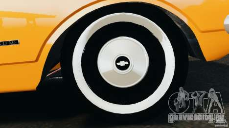Chevrolet Opala Gran Luxo для GTA 4 вид снизу
