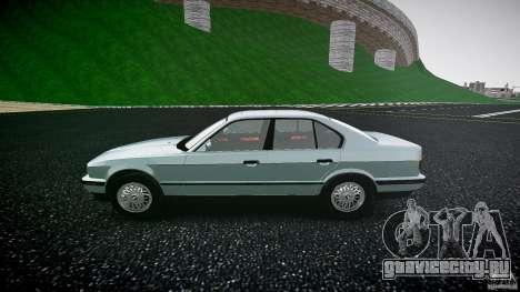 BMW 535i E34 для GTA 4 вид слева