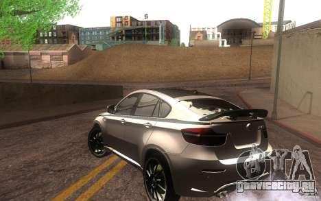 Bmw X6 M Lumma Tuning для GTA San Andreas вид сзади слева