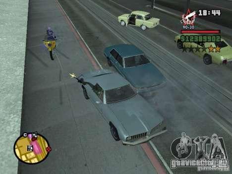 Охранник для CJ с миниганом для GTA San Andreas третий скриншот