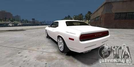 Dodge Challenger 2006 для GTA 4 вид слева