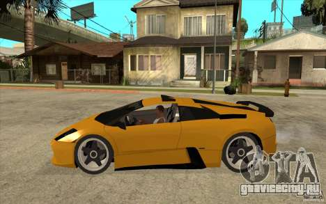 Lamborghini Murcielago для GTA San Andreas вид слева