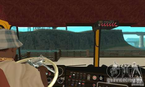 Kenworth K100C Aerodyne для GTA San Andreas вид справа