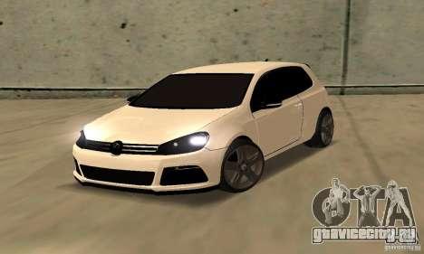 Volkswagen Golf R Modifiye для GTA San Andreas