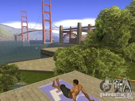 Коврик для отдыха для GTA San Andreas пятый скриншот