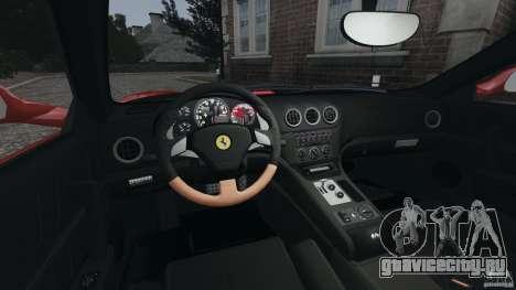 Ferrari 575M Superamerica [EPM] для GTA 4 вид сзади