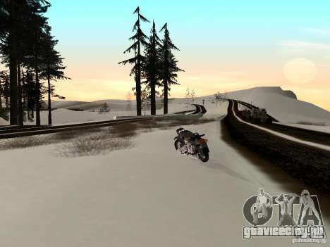 Зима для GTA San Andreas седьмой скриншот