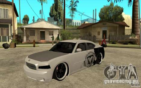 Dodge Charger SRT8 Tuning для GTA San Andreas