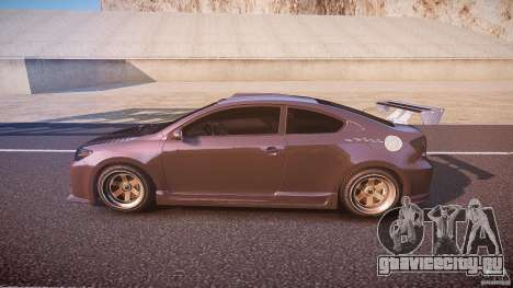 Toyota Scion TC 2.4 Tuning Edition для GTA 4 вид слева