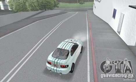 Toyota Celica GT4 2000 для GTA San Andreas вид сверху